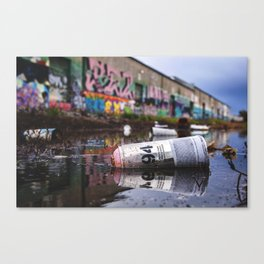 MTN Reflections Canvas Print