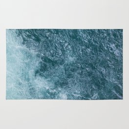 Mountain Waters I (Norway) Rug