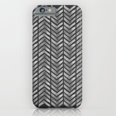 STAMPS SERIES N3 HERRINGBONE BLACK iPhone 6s Slim Case