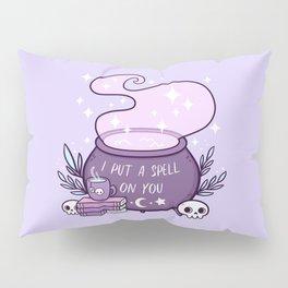 Witch Cauldron // Purple Pillow Sham