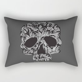 Sex kill you everyday (SKULL) Rectangular Pillow