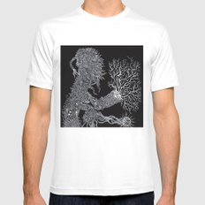 Life of Oceans: The Sea Dragon MEDIUM White Mens Fitted Tee