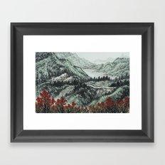 霧社之春 Framed Art Print