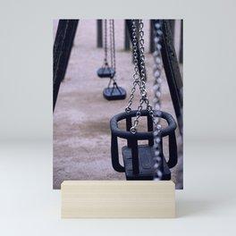 Lonely seesaw Mini Art Print