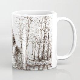 Hut ink Coffee Mug