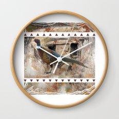 Pheasant Pillow Design Wall Clock