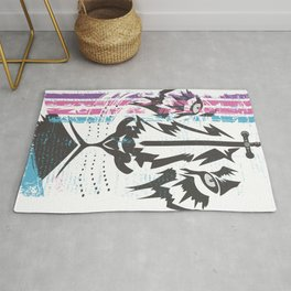 Sword of the Lion Rug