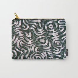 squiggletown chrome Carry-All Pouch