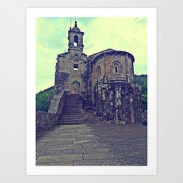 A Capela 3 Art Print