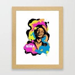 Soul Activism :: Nina Simone Framed Art Print