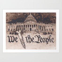 The 115th U.S. Congress Art Print