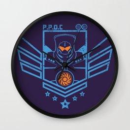 P.P.D.C. Wall Clock