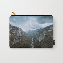 Yosemite Storm Clouds Carry-All Pouch