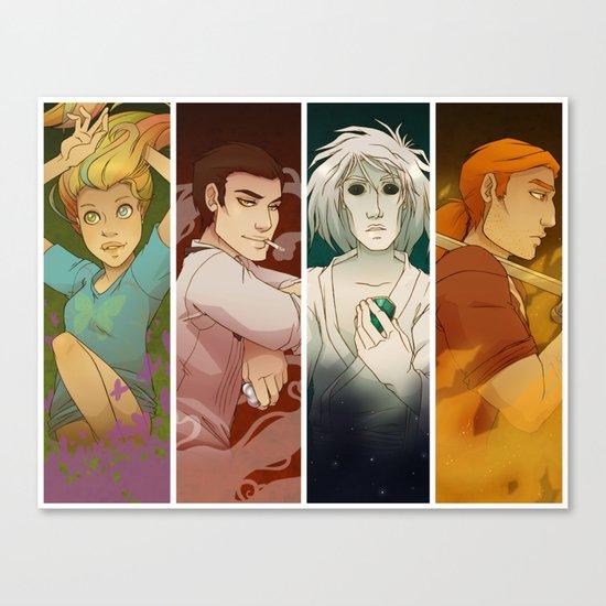 Sandman Quartet Canvas Print