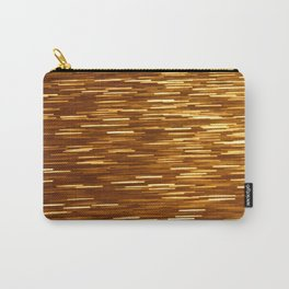 Gold Glitter 1394 Carry-All Pouch