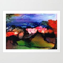 Fairy Hills Art Print