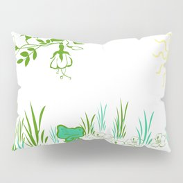 Pete the frog Pillow Sham