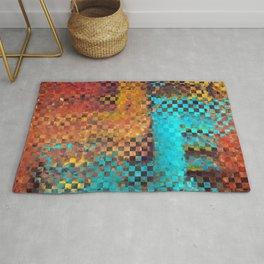 Abstract Modern Art - Pieces 1 - Sharon Cummings Rug