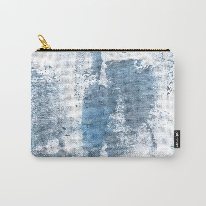 Gray blue smoke Carry-All Pouch