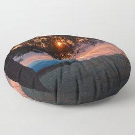On a Magic Night Floor Pillow