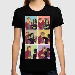 Cosmic Love like a Flower T-shirt