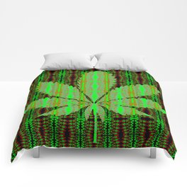 Marijuana Leaf Comforters