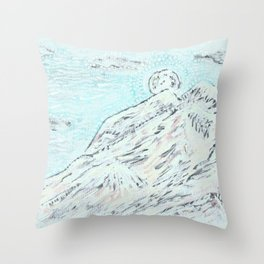 Moon Energy Throw Pillow
