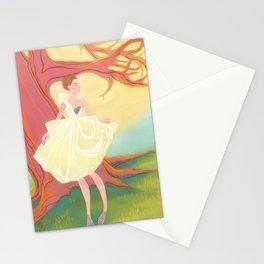 Spring Fashion Illustration Stationery Cards