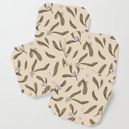 Mistletoe Pattern Coaster