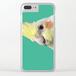 Hello... Is it me you're looking for? Clear iPhone Case