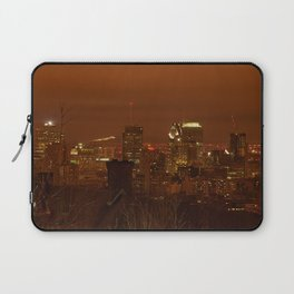 Montreal City by night Laptop Sleeve