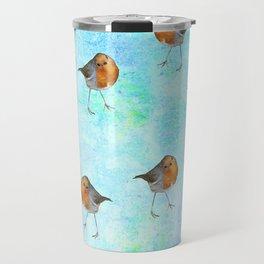 Robin -The visitor Travel Mug