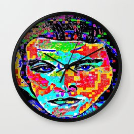 Long Live The King Of Rock and Roll! Wall Clock