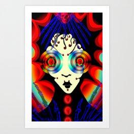 boney big eyes Art Print
