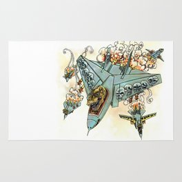 Tyrannosquadron Rex! Rug