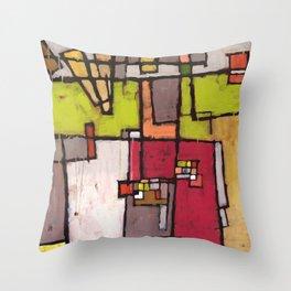 Noisy Neighborhood Throw Pillow
