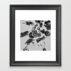 dis MAN tled option Framed Art Print