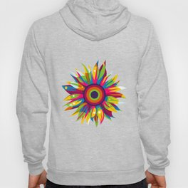 Colorful Sun Flower Hoody