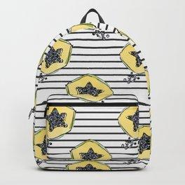 papaya pattern Backpack
