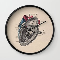 My Heart Beats for You Wall Clock