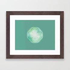 Attunement 8 Framed Art Print