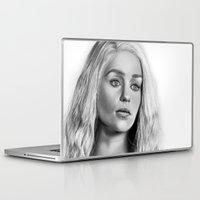 targaryen Laptop & iPad Skins featuring Daenerys Targaryen by Mutemouia