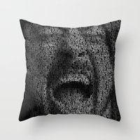 dave grohl Throw Pillows featuring Dave Grohl. Best Of You by Robotic Ewe