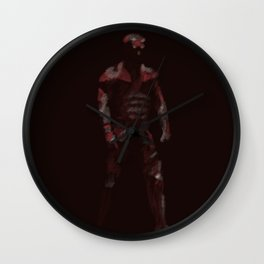 The Man Without Fear Wall Clock