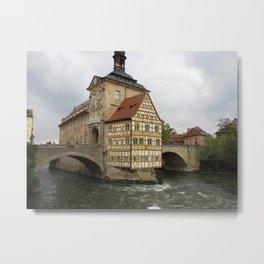 Rathaus Bamberg Metal Print