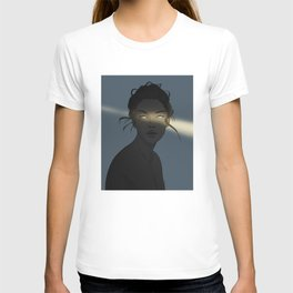 Female ghost T-shirt