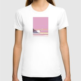 Seagull of morning glow T-shirt