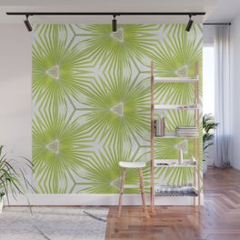 Palm Frond Play Wall Mural