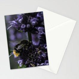 Bumblebee on Lamiaceae agastache I Stationery Cards