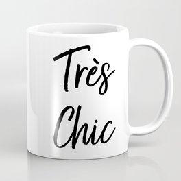 Très Chic Typography Coffee Mug
